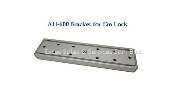 AH-600 Bracket for EM Lock Accessories - Door Access Perak, Ipoh, Malaysia Installation, Supplier, Supply, Supplies | Exces Sales & Services Sdn Bhd