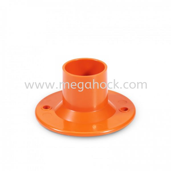 Dome Cover (Orange) Dome Cover Conduit Fitting Johor Bahru (JB), Malaysia, Senai Supplier, Suppliers, Supply, Supplies   Megahock Pipes & Profile Manufacturing Sdn Bhd