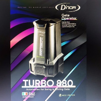 D'NOR TURBO 880 Swing Autogate Autogate Kulai, Johor Bahru (JB), Johor. Security System, Installation, Supplier, Supplies | Prime Electrical Alarm & Auto Gate Centre