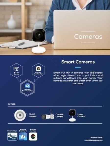 BLUGUARD SMART CAMERA BLUGUARD WIRELESS SMART HOME Burglar Alarm Kulai, Johor Bahru (JB), Johor. Security System, Installation, Supplier, Supplies | Prime Electrical Alarm & Auto Gate Centre