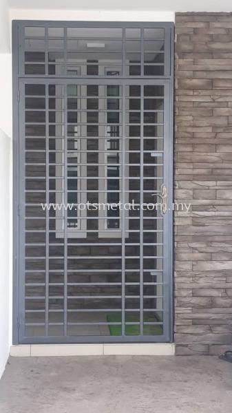 MD022 Metal Door (Grill) Johor Bahru (JB) Design, Supplier, Supply | OTS Metal Works