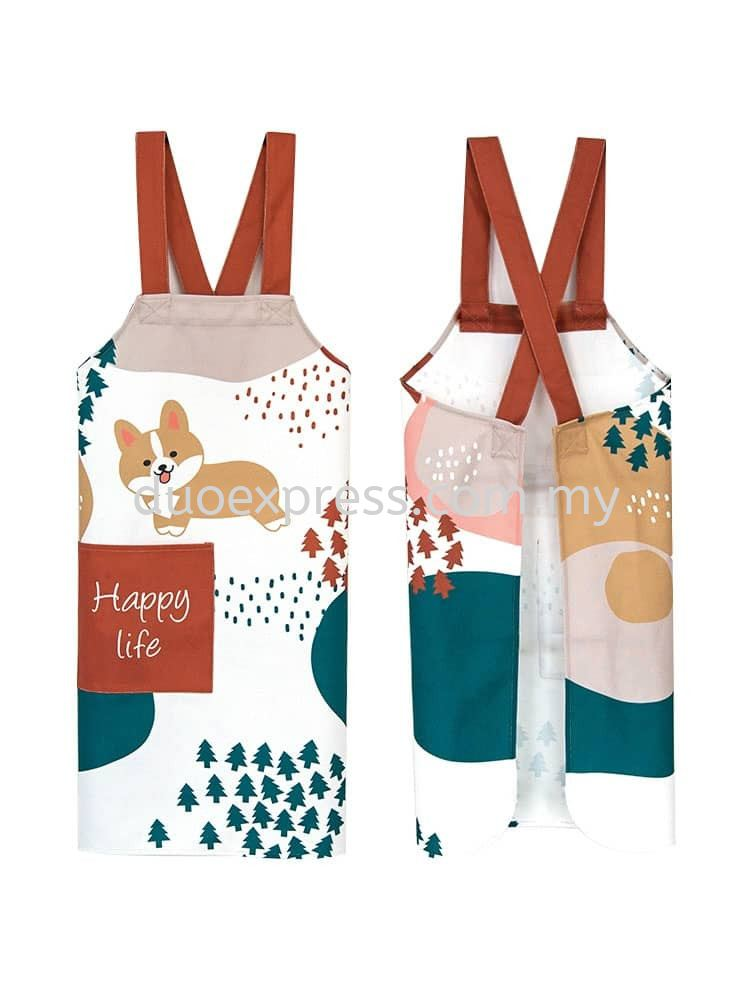 Cross Back Apron Style 7