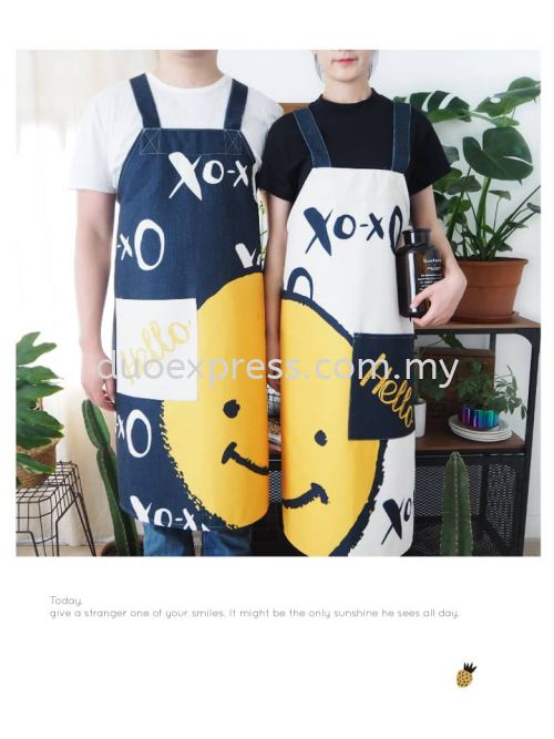 Cross Back Apron Style 6