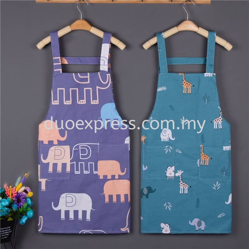 Cross Back Apron Style 2