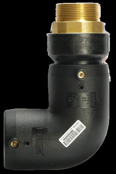 Transition Male Elbow 90 PE 100 Electrofusion Systems Polyfuse Heat Fusion Fittings Malaysia, Selangor, Kuala Lumpur (KL), Perak, Semenyih, Ipoh Manufacturer, Supplier, Supply, Supplies   POLYWARE SDN BHD