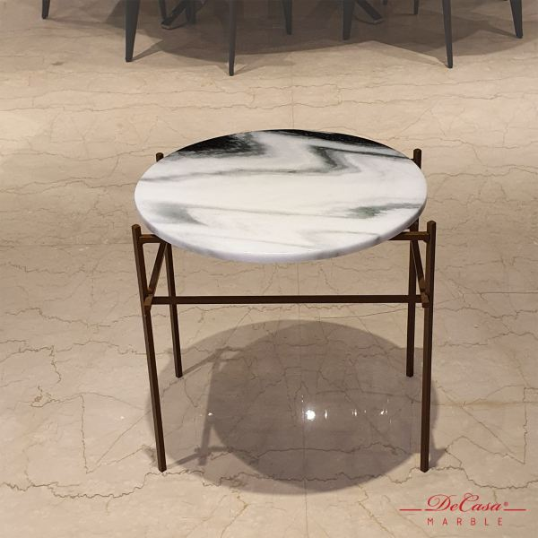 Panda White | Marble Side Table | Cash & Carry Marble Coffee Table PROMOTION ITEM Selangor, Kuala Lumpur (KL), Malaysia Supplier, Suppliers, Supply, Supplies | DeCasa Marble Sdn Bhd