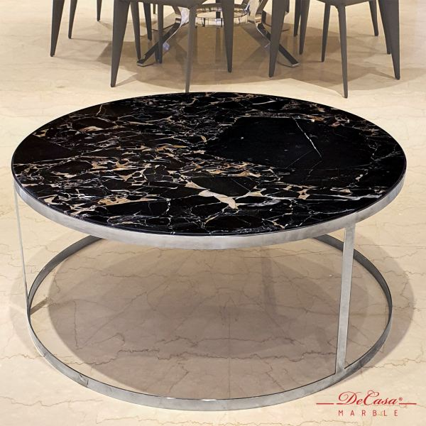 Portoro Gold (non-coat) | Marble Coffee Table | Cash & Carry Marble Coffee Table PROMOTION ITEM Selangor, Kuala Lumpur (KL), Malaysia Supplier, Suppliers, Supply, Supplies | DeCasa Marble Sdn Bhd