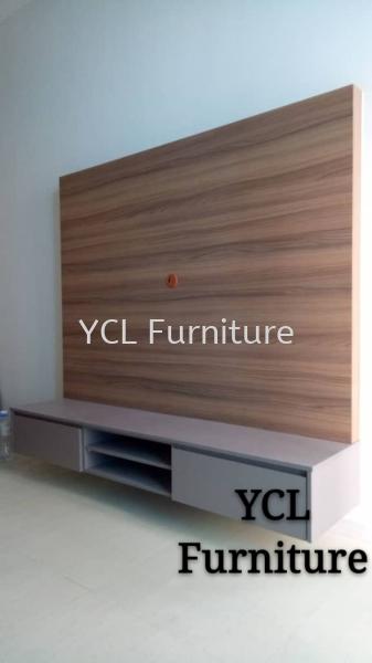Melamine Tv Console Cyberjaya Selangor tv cabinet Selangor, Malaysia, Kuala Lumpur (KL), Semenyih Supplier, Suppliers, Supply, Supplies | YCL Furniture
