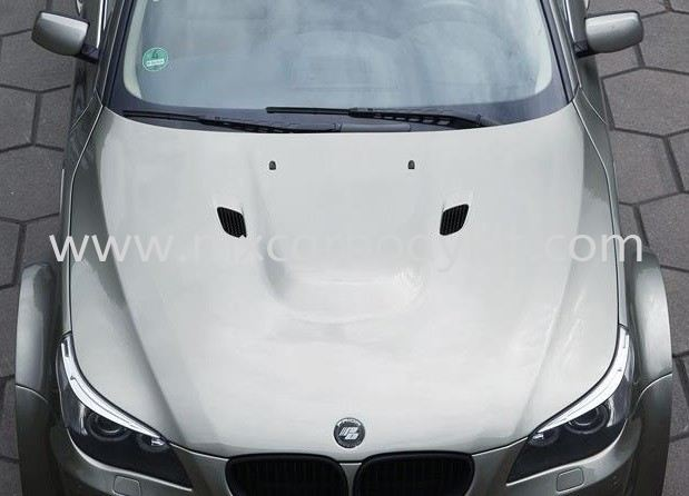 BMW E60 M4 FRONT BONNET HOOD CARBON E60 (5 SERIES) BMW Johor, Malaysia, Johor Bahru (JB), Masai. Supplier, Suppliers, Supply, Supplies | MX Car Body Kit