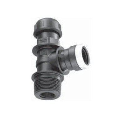 PP Thermoplastic Ferrule for Threaded connection