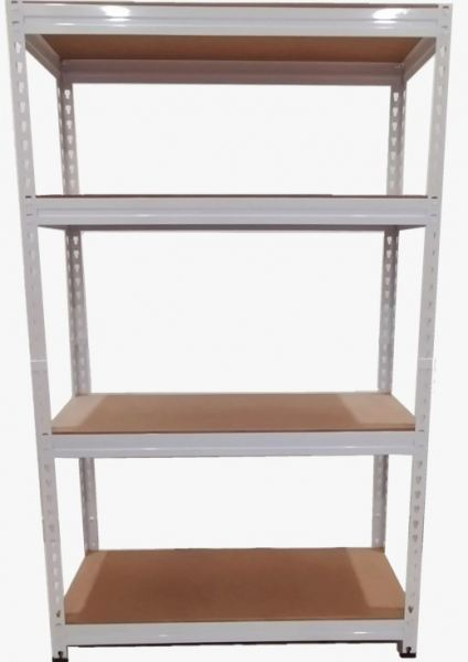 2 IN 1 WHITE BOLTLESS RACK HDF BOARD (4 LEVELS) RACK Penang, Malaysia, Seberang Perai Supplier, Distributor, Supply, Supplies | K Innovation Sdn Bhd