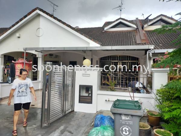 ALUMINIUM COMPOSITE PANEL AWNING STAINLESS STEEL Johor Bahru (JB), Skudai, Malaysia Contractor, Manufacturer, Supplier, Supply | Soon Heng Stainless Steel & Renovation Works Sdn Bhd