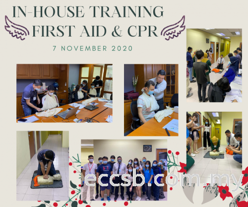 In-house Training Programme for First Aid & CPR.