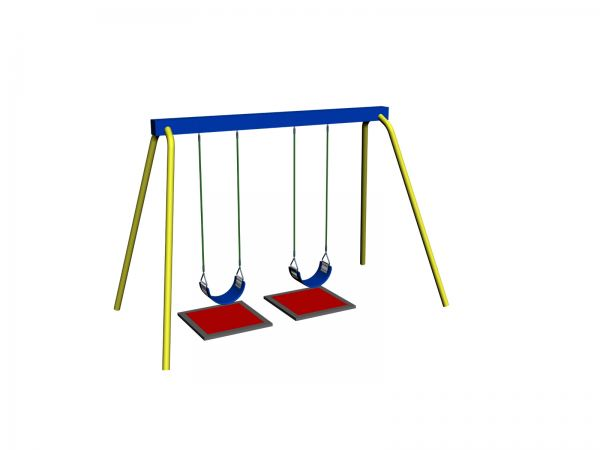 2 Seater Swing Individual Item Malaysia, Seremban, Negeri Sembilan Manufacturer, Supplier, Supply, Supplies   Ideal Scope Playground Sdn Bhd