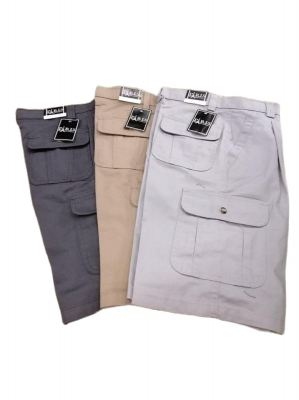Paris Short Cargo Pants (29-38) Multi Pocket Men Working Short Pants
