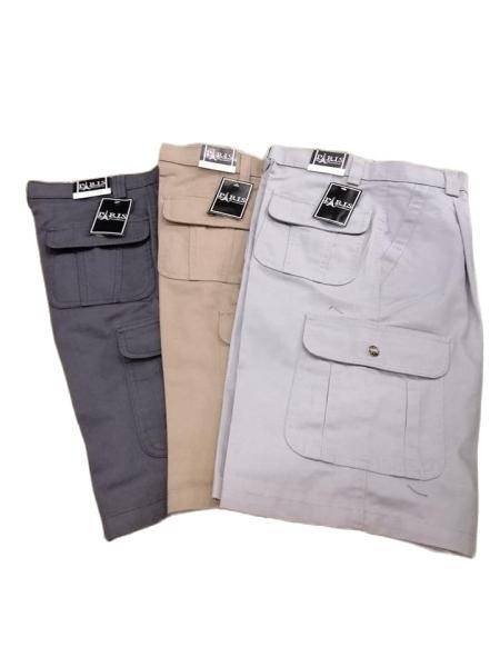 Paris Short Cargo Pants (29-38) Multi Pocket Men Working Short Pants Cargo Mens Johor Bahru (JB), Malaysia, Johor Jaya Supplier, Suppliers, Supply, Supplies | Paris Trading Company