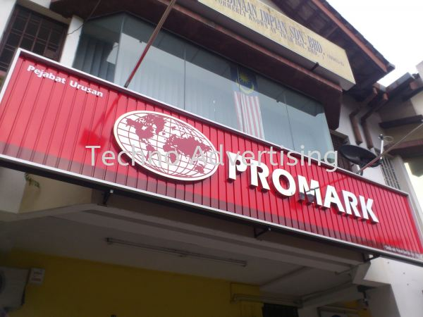 Stainless Steel Stainless Steel Box Up Signage   Supplier, Suppliers, Supply, Supplies | TECHNO ADVERTISING