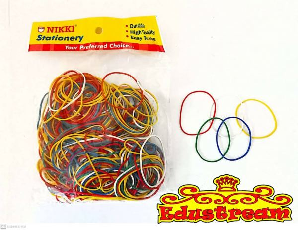 Nikki Color Rubber Band 220gm Rubber Band Home Johor Bahru (JB), Malaysia Supplier, Suppliers, Supply, Supplies | Edustream Sdn Bhd