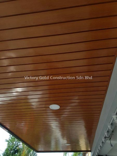 Metal ceiling stripe. Awning Melaka, Malaysia, Bukit Katil Service, Supplier, Supply, Supplies | VICTORY GOLD CONSTRUCTION SDN BHD
