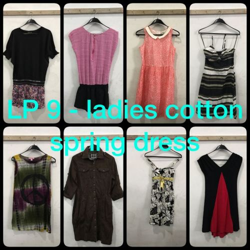 Ready Stock - Ladies Cotton Spring Dress