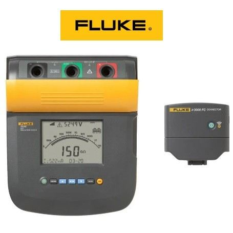 Rental - Fluke 1555 FC 10 kV Insulation Tester Test & Measurement RENTAL  Malaysia, Indonesia, Penang, Bayan Lepas Supplier, Suppliers, Supply, Supplies | Hexo Industries (M) Sdn Bhd
