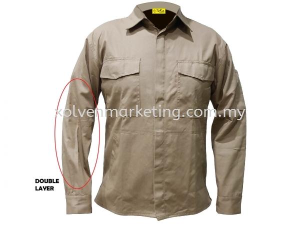 Exclusive Welding Jacket Cotton Jacket Johor Bahru (JB), Malaysia, Masai Supplier, Suppliers, Supply, Supplies   Solven Premium Gift & Souvenir