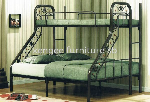 Metal Bed Frame Bedroom Johor, Malaysia, Muar Supplier, Suppliers, Supply, Supplies   XENG EE FURNITURE SDN BHD