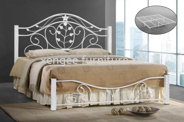 Metal Bed Frame Bedroom Johor, Malaysia, Muar Supplier, Suppliers, Supply, Supplies | XENG EE FURNITURE SDN BHD