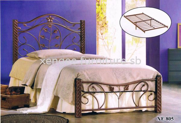 XE 805 Metal Bed Frame Bedroom Johor, Malaysia, Muar Supplier, Suppliers, Supply, Supplies   XENG EE FURNITURE SDN BHD