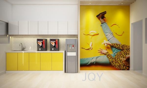 Penang MNC Factory Pantry Commercial Penang, Malaysia Design, Service | JQY INTERIOR DESIGN
