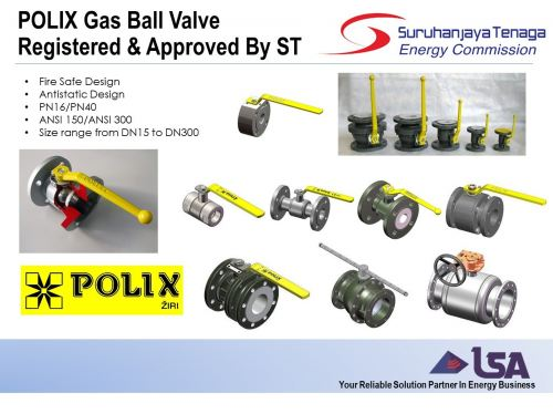 Our Product Polix Now Registered and Approved By Energy Commission (Suruhanjaya Tenaga)
