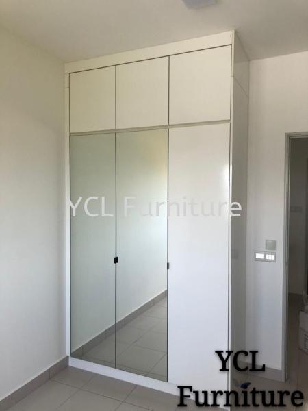 Melamine Gloss White Wardrobe D'Cerrum Ecohill wardrobe Selangor, Malaysia, Kuala Lumpur (KL), Semenyih Supplier, Suppliers, Supply, Supplies | YCL Furniture