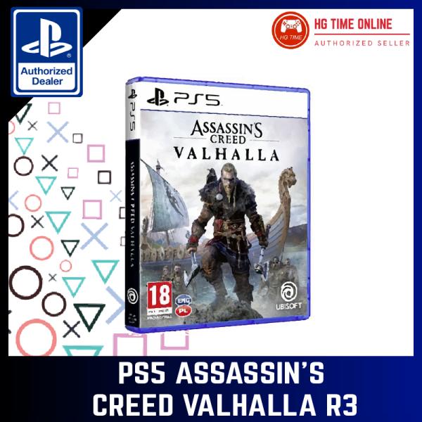 [READY STOCK]  PS5 Assassins Creed Valhalla R3 PS5 Game Malaysia, Selangor, Kuala Lumpur (KL), Klang, Shah Alam, Banting Supplier, Suppliers, Supply, Supplies   HG Time Enterprise