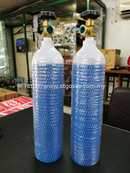 Portable Aluminium Cyls With High Purity Argon Gas Gas Cylinders Kuala Lumpur (KL), Malaysia, Selangor Supplier, Suppliers, Supply, Supplies | ST Gases Trading Sdn Bhd