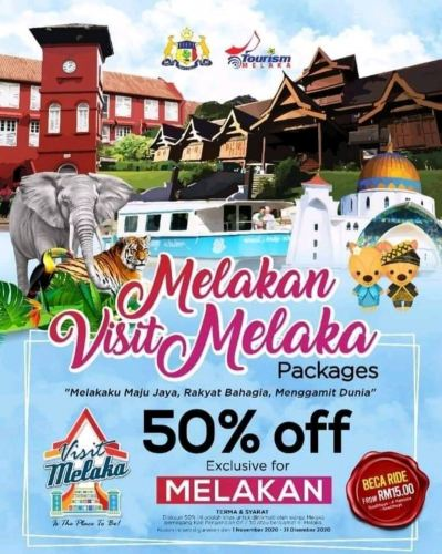 Hello Malaccan! 50% off now!