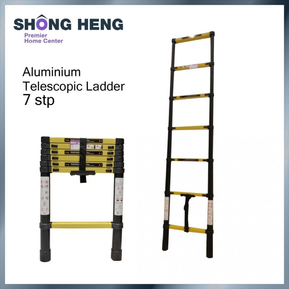 TELESCOPIC MULTIPURPOSE LADDER KME1020Y- MAX. LENGTH (2.0 M) (7 STEP)
