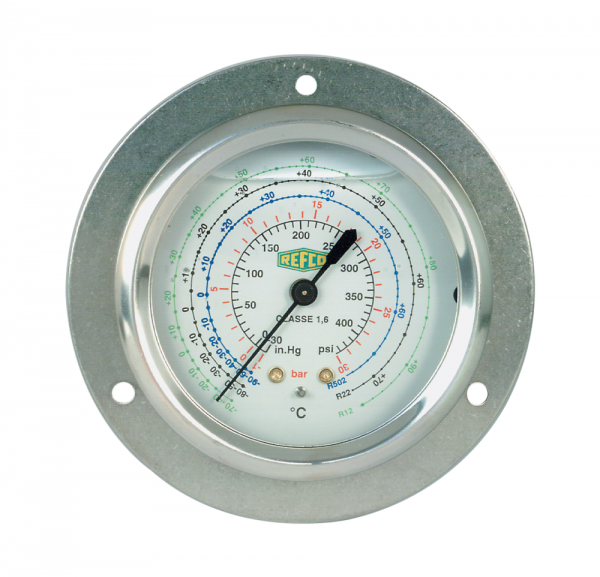 MR-205-DS-R32 REFCO Low Side Oil Gauge (Back) - R32/R410A Oil Filled Pressure Gauge Selangor, Malaysia, Kuala Lumpur (KL), Shah Alam Supplier, Suppliers, Supply, Supplies   Precizion Tools