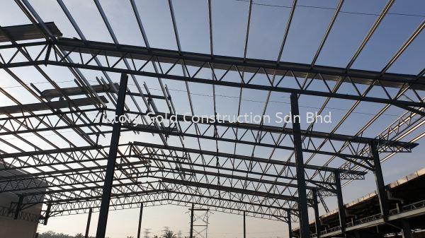 Steel structure work Steel Structure Melaka, Malaysia, Bukit Katil Service, Supplier, Supply, Supplies | VICTORY GOLD CONSTRUCTION SDN BHD