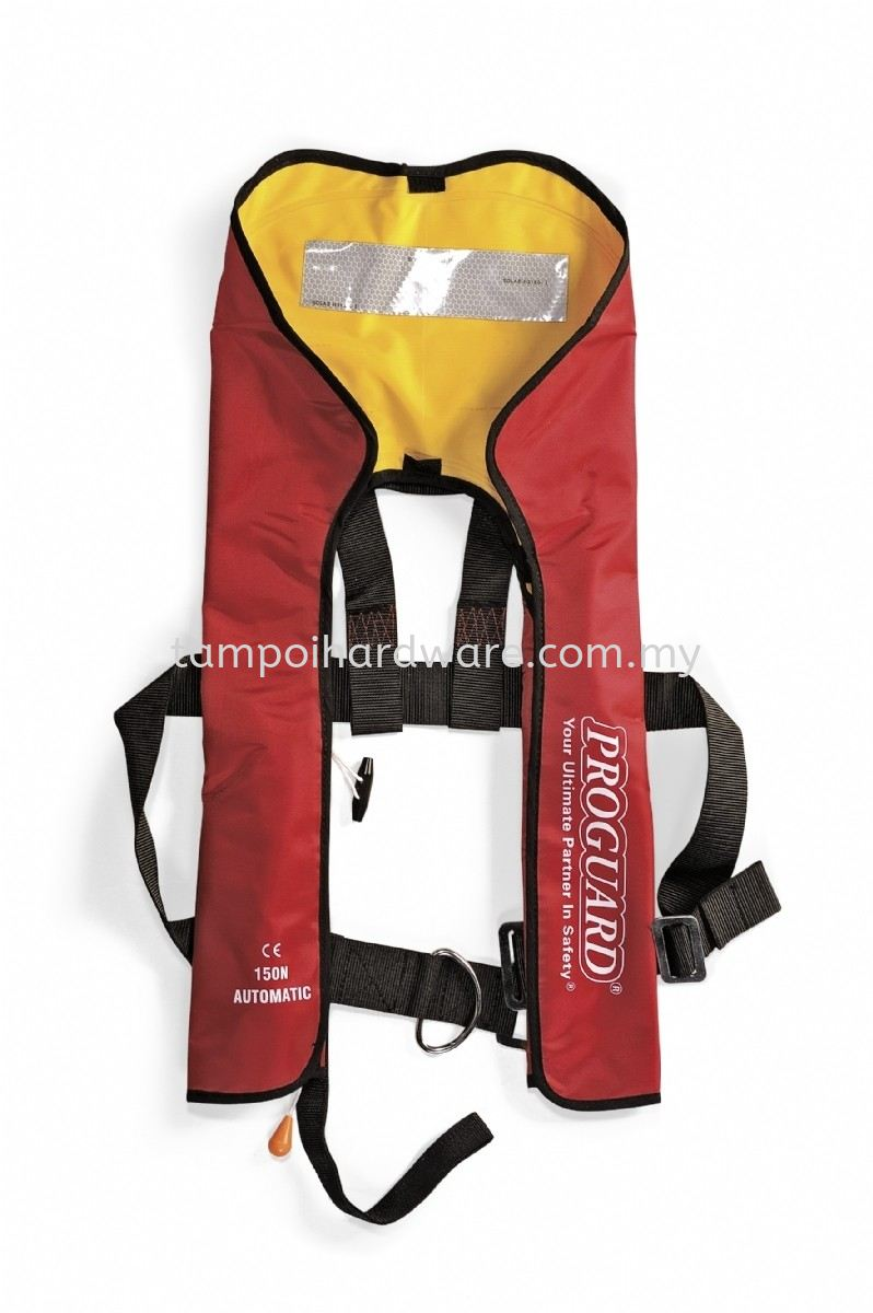 PROGUARD Inflatable Life Jacket Emergency Equipment Personal Protective Equipments Johor Bahru (JB), Malaysia, Tampoi Supplier, Suppliers, Supply, Supplies   Tampoi Hardware Sdn Bhd