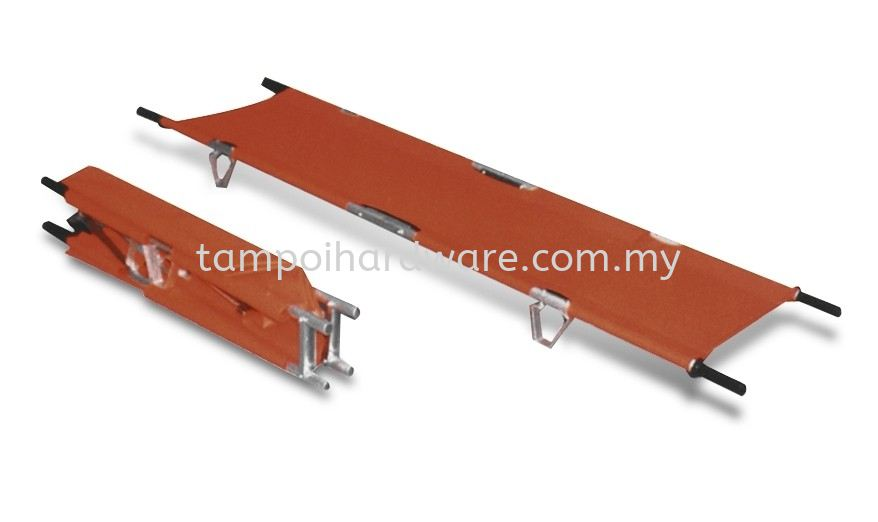 Double Foldable Pole Stretcher Emergency Equipment Personal Protective Equipments Johor Bahru (JB), Malaysia, Tampoi Supplier, Suppliers, Supply, Supplies   Tampoi Hardware Sdn Bhd