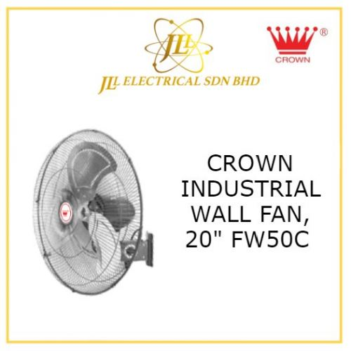 "CROWN INDUSTRIAL FAN, FW50C 20"" INDUSTRIAL WALL FAN"