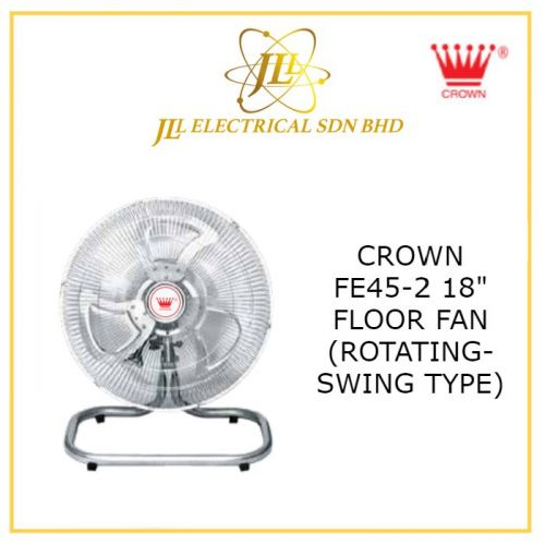 "CROWN FE45-2 18"" FLOOR FAN (ROTATING-SWING TYPE)"