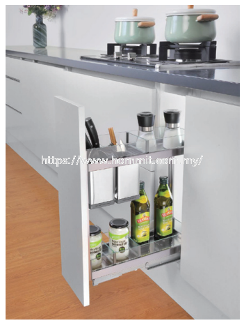 2 Layer Drawer Basket With Soft-Closing Kitchenware Selangor, Malaysia, Kuala Lumpur (KL), Klang Supplier, Suppliers, Supply, Supplies | HOMMIT HARDWARE TRADING SDN. BHD.