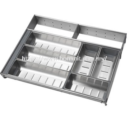 Stainless Steel Cutlery Tray Kitchen Drawer System Selangor, Malaysia, Kuala Lumpur (KL), Klang Supplier, Suppliers, Supply, Supplies | HOMMIT HARDWARE TRADING SDN. BHD.