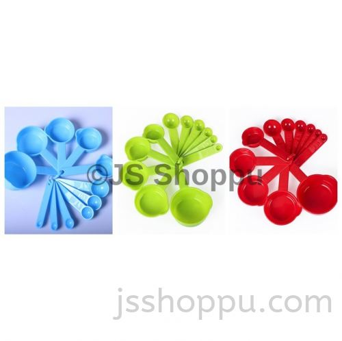 11 pcs Food-Grade Silicone Kitchen Measuring Tools (Ready Stock)