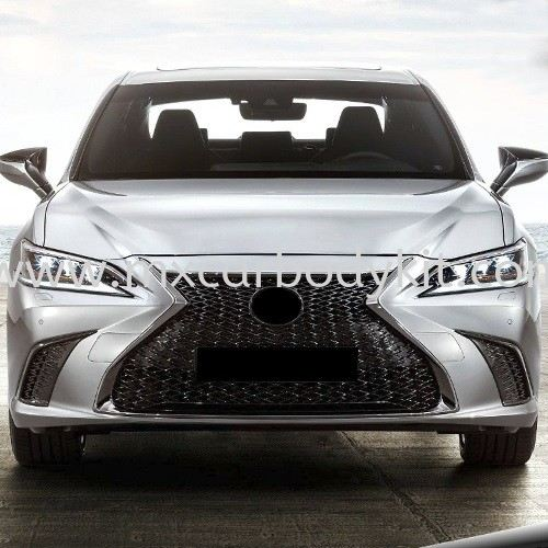 LEXUS ES250 2016 CONVERSION TO 2019 NEW LOOK FRONT BUMPER  ES250 XV60 2012 - 2018 LEXUS Johor, Malaysia, Johor Bahru (JB), Masai. Supplier, Suppliers, Supply, Supplies | MX Car Body Kit