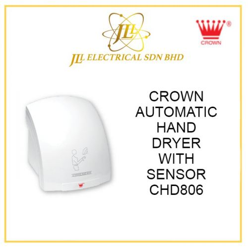 CROWN AUTOMATIC HAND DRYER WITH SENSOR CHD806