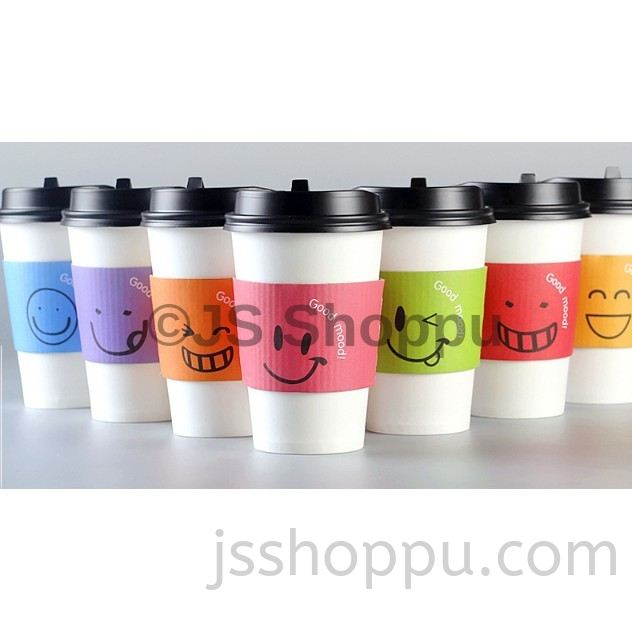 High Class Cup Sleeve / 12oz/16oz Paper Cup Sleeve / Cup Holder (25pcs+-)