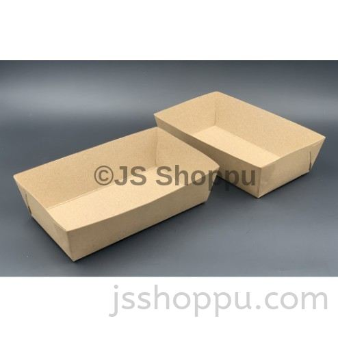 Brown Paper Tray / Disposable Paper Tray