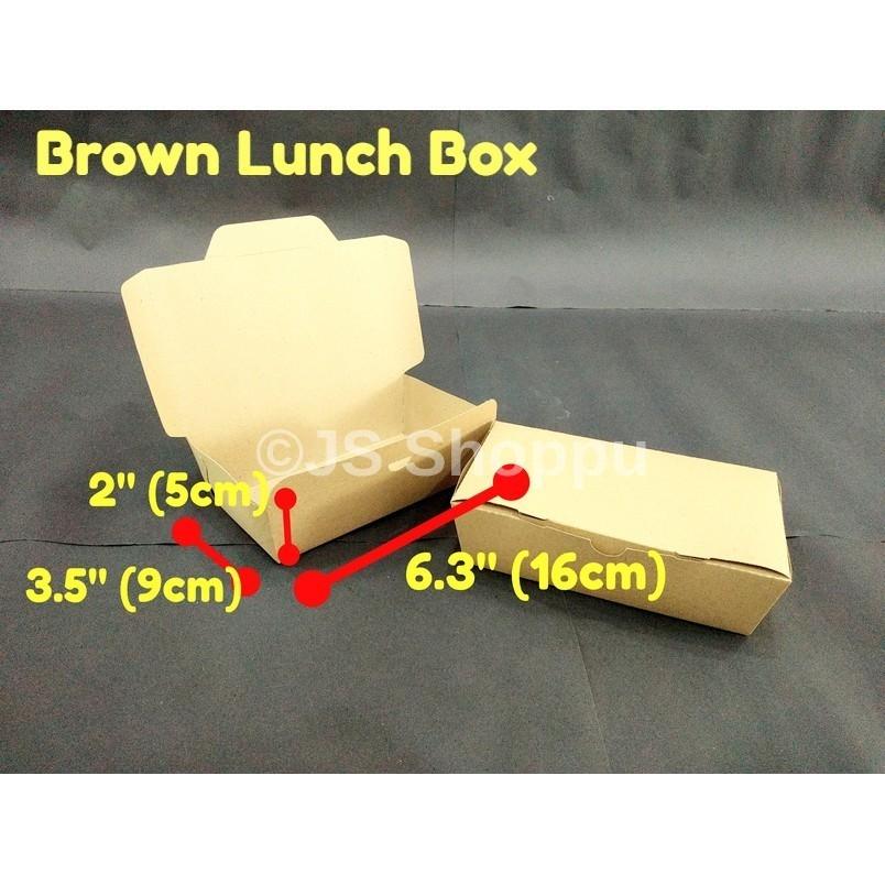 Disposable Paper Lunch Box (50pcs±)